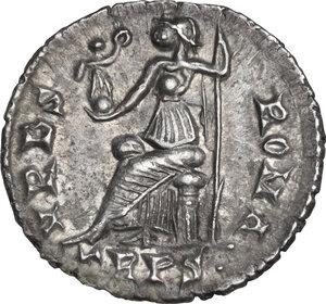 reverse: Valens (364-378). AR Siliqua, Treveri mint
