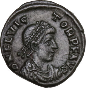 obverse: Flavius Victor (387-388). AE 13.5 mm. Aquileia mint