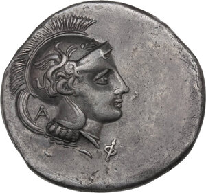 obverse: Northern Lucania, Velia. AR Didrachm, 300-280 BC