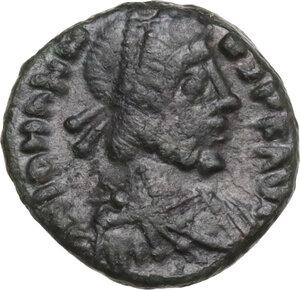 obverse: Johannes (Usurper, 423-425). AE 12 mm. Rome mint