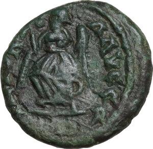 reverse: Majorian (457-461). AE 13.5 mm. Mediolanum mint (?)