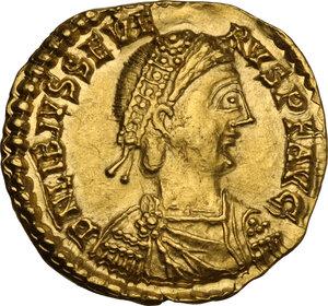 obverse: Libius Severus (Severus III, 461-465). AV Solidus. Rome mint