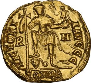 reverse: Libius Severus (Severus III, 461-465). AV Solidus. Rome mint