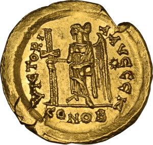 reverse: Zeno (474-491). AV Soidus, Ravenna mint