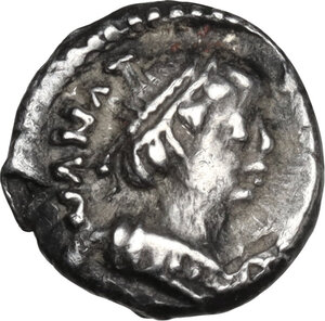 obverse: Ostrogothic Italy, Theoderic (493-526). AR Quarter Siliqua in the name of Anastasius I. Ravenna mint, c. 493-518