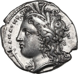 obverse: Southern Lucania, Metapontum. AR Stater. c. 340 - 330 BC