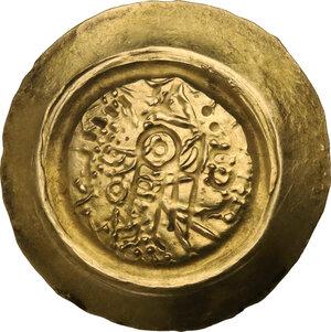 obverse: The Lombards at Pavia. Liutprand (712-744). Pale AV