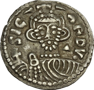 obverse: The Lombards at Beneventum. Sicard (832-839). Pale AV Solidus