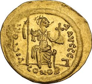 reverse: Justin II (565-578). AV Solidus, Constantinople mint