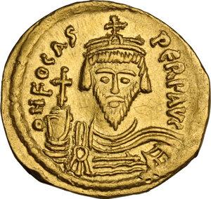 obverse: Phocas (602-610). AV Solidus. Constantinople mint, 603-607 AD