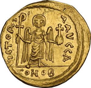 reverse: Phocas (602-610). AV Solidus. Constantinople mint, 603-607 AD