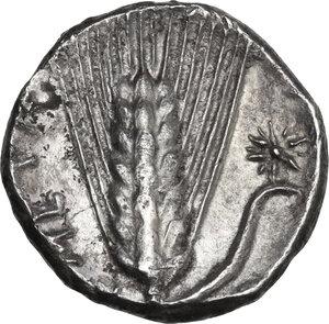 reverse: Southern Lucania, Metapontum. AR Stater, c. 330-290