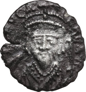 obverse: Phocas (602-610). AR Half Siliqua, Carthage mint, 603 BC