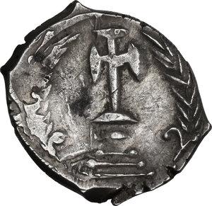reverse: Constans II (641-668). .