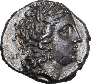 obverse: Southern Lucania, Metapontum. AR Nomos, c. 290-280 BC