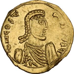 obverse: Constans II (641-668). AV Tremissis, Syracuse mint, 662-668 AD
