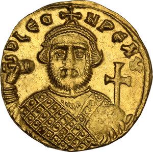 obverse: Leontius (695-698). AV Solidus, Constantinople mint