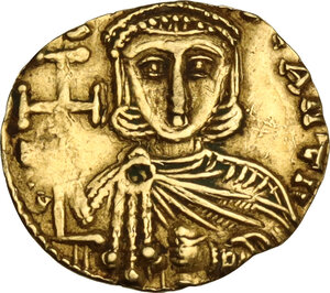 reverse: Leo III, the Isaurian (717-720). AV Tremissis, Syracuse mint
