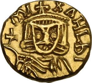 Michael II the Amorian, with Theophilus (820-829). AV Tremissis, Syracuse mint, 821-829 AD