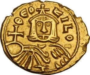 reverse: Theophilus (829-842). AV Solidus, Syracuse mint