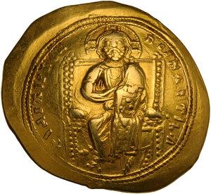 obverse: Constantine X Ducas (1059-1067). AV Histamenon Nomisma. Constantinople mint