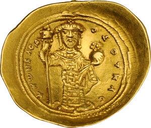 reverse: Constantine X Ducas (1059-1067). AV Histamenon Nomisma. Constantinople mint