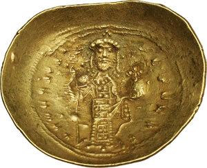 reverse: Constantine X, Ducas (1059-1067). AV Histamenon Nomisma. Constantinople mint, 1062-1065 AD