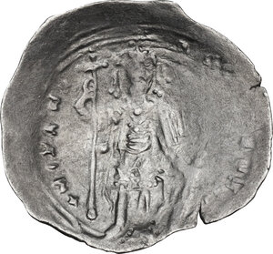 reverse: Alexius I, Comnenus (1081-1118). AR Miliaresion, Constantinople mint