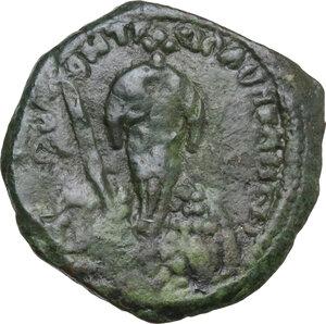 obverse: Antioch. Tancred, Regent (1101-1104, 1104-1112). AE Follis