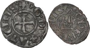 obverse: Athens. Guillaume de la Roche (1280-1287). BI Obol