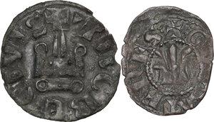 reverse: Athens. Guillaume de la Roche (1280-1287). BI Obol