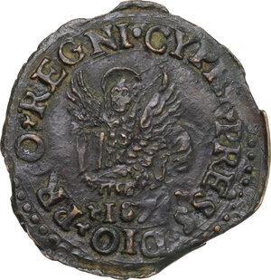 obverse: Famagosta. Alvise I Mocenigo (1570-1577). AE Bezant 1570