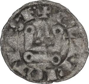 reverse: Karytaina. Helena Angelina Comnena (c. 1291-1300). BI Denier Tournois