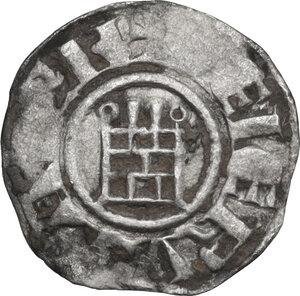 reverse: Jerusalem. Baldwin III (1143-1163). BI Obol