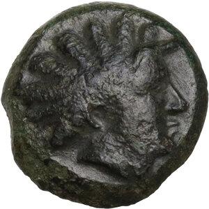 obverse: Bruttium, Kaulonia. AE 14.5 mm. c. 425-420 BC