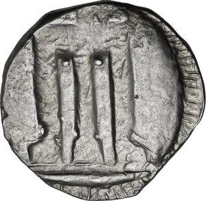 reverse: Bruttium, Kroton. AR Nomos, c. 480-430 BC