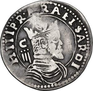 obverse: Cagliari. Filippo II di Spagna (1554-1598). Da 3 Reali