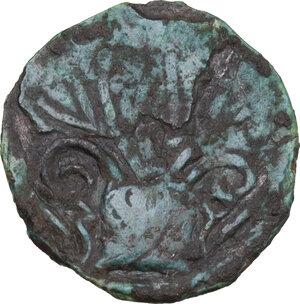 obverse: Capua. Monetazione civica (XI-XII sec.). Follaro