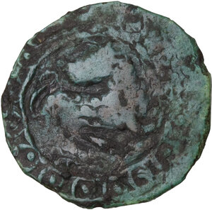 reverse: Capua. Monetazione civica (XI-XII sec.). Follaro