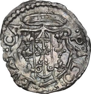 obverse: Castro. Pierluigi Farnese (1545-1547). Baiocchetto
