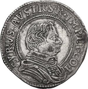 obverse: Correggio. Siro d Austria Principe (1616-1630). Da 8 Soldi