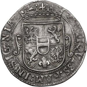 reverse: Correggio. Siro d Austria Principe (1616-1630). Da 8 Soldi