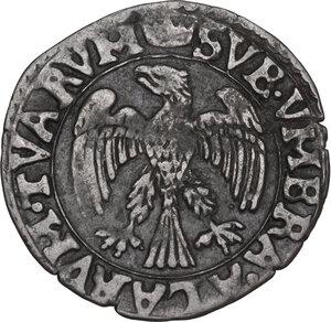 obverse: Correggio. Anonime dei conti Gerolamo, Gilberto, Camillo e Fabrizio (1569-1580). Sesino