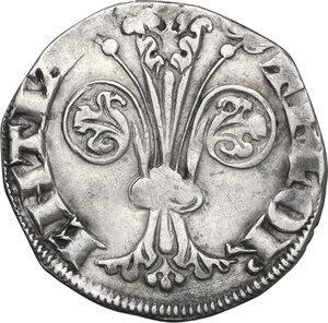 obverse: Firenze. Repubblica (sec. XIII-1532). Fiorino grosso da 2 soldi o popolino, 1308 II sem., Donato di Lamberto della Antella maestro di zecca