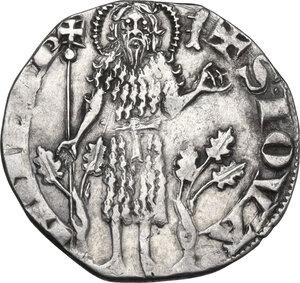 reverse: Firenze. Repubblica (sec. XIII-1532). Fiorino grosso da 2 soldi o popolino, 1308 II sem., Donato di Lamberto della Antella maestro di zecca