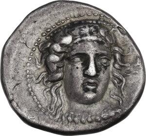 obverse: Bruttium, Kroton. AR Nomos, c. 400-325 BC