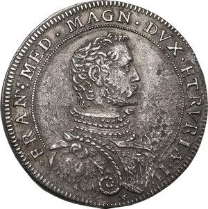 obverse: Firenze. Francesco I de  Medici (1574-1587). Piastra 1585