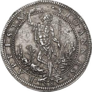 reverse: Firenze. Francesco I de  Medici (1574-1587). Piastra 1585