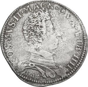 obverse: Firenze. Cosimo II de  Medici (1608-1620). Lira 1614, I serie