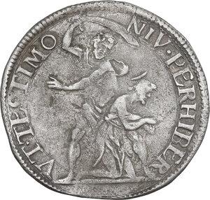 reverse: Firenze. Cosimo II de  Medici (1608-1620). Lira 1614, I serie